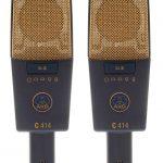 AKG C414XLII matched pair
