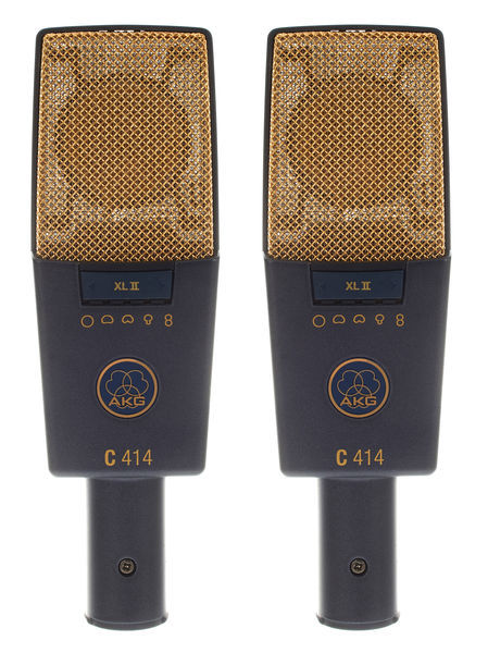 AKG C414XLII matched pair
