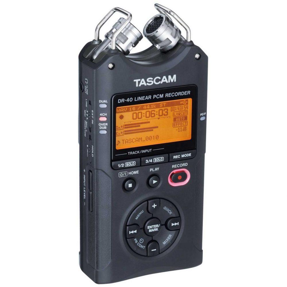 Tascam DR-40 portable recorder hire
