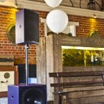 Small Funktion One hire package wedding