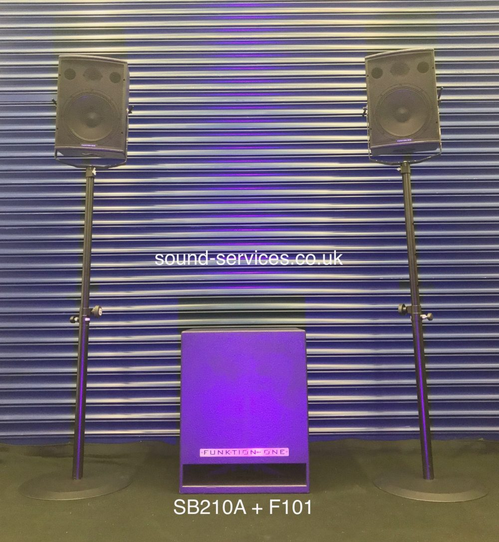Funktion One SB210A & F101