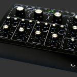 E&S DJR400 rotary DJ mixer